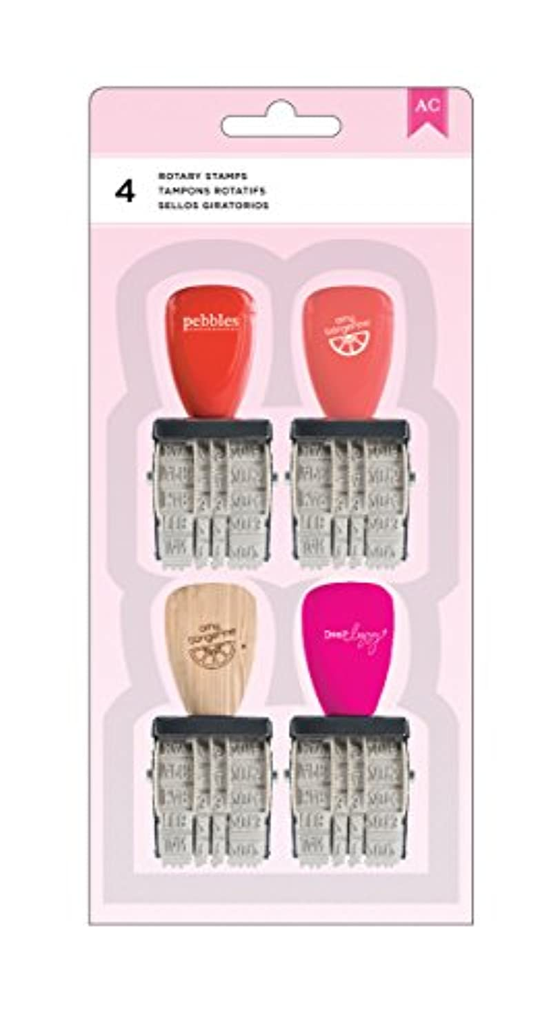 American Crafts 4 Piece Date Stamp Value Pack