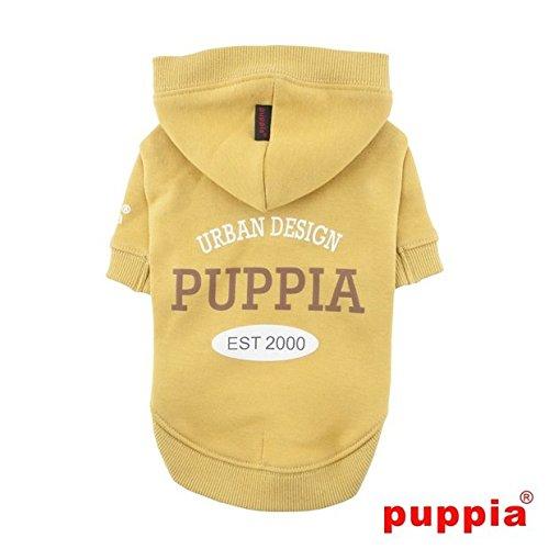 Puppia PAQD-TS1458 U-Pup, sweater, S, mosterd