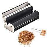ZLFLD Accessoires Cigare Manuel Mini Machine à Cigarettes avec Couvercle Portable...
