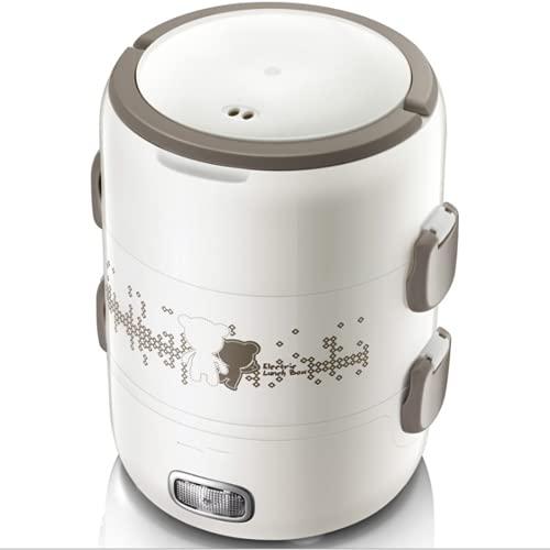 BBZ Caja de Almuerzo de calefacción eléctrica, conservación de Calor se Puede conectar calefacción eléctrica, los Trabajadores de Oficina Son portátiles y sellados para Mantenerse Frescos