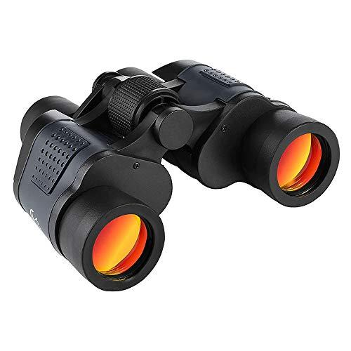 Haihuic 60x60 Hochleistungs-Fernglas für Erwachsene, HD Profi-Fernglas, wasserdicht, Tag-/Nachtsicht, für Reisen, Wandern, Jagd, Vogelbeobachtung