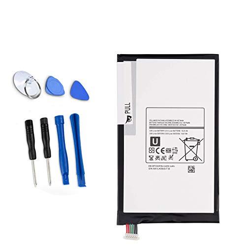 ASKC 4450mAh EB-BT330FBU Tablet Batteria per Samsung Galaxy Tab 4 8.0' T330 T331 T335 T337 SM-T330 SM-T330NU SM-T331 SM-T335 SM-T337 SM-T337T SM-T337A SM-T337V EB-BT330FBE EB-BT330FBC with Tools