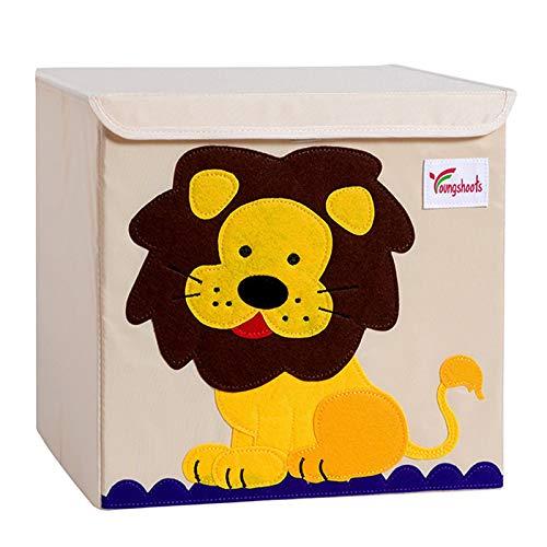 Caja de almacenamiento para niños, caja de almacenamiento para niños con tapa,...