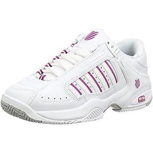 Customer reviews K-Swiss Performance Defier Rs, Women's Tennis Shoes, White (White/Veryberry 127), 5 UK (38 EU)