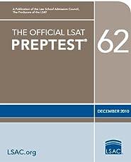 The Official LSAT PrepTest 62--December 2010 LSAT