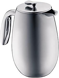 Bodum columbia kaffebryggare (dubbelväggig, rostfritt stål, diskmaskinssäker, 1,0 liter) matt