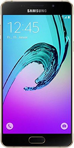 Samsung Galaxy A5 (2016) Smartphone (5,2 Zoll (13,22 cm) Touch-Bildschirm, 16 GB Speicher, Android 5.1) gold