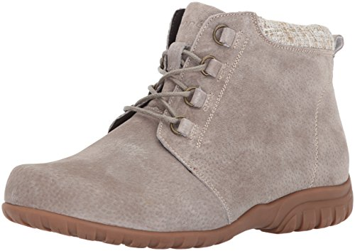 Propet Women's Delaney Ankle Boot Bootie, Sand, 6.5 Narrow