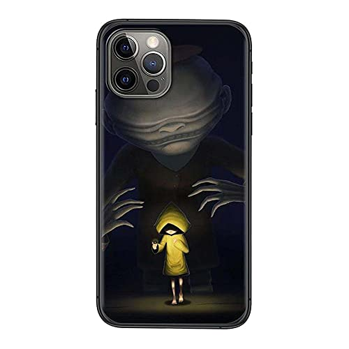 Little Nightmares - Funda de silicona para teléfono móvil, compatible con todos los iPhones, protección completa, estructura de 3 capas-Anime_1_iPhone_7/8Plus