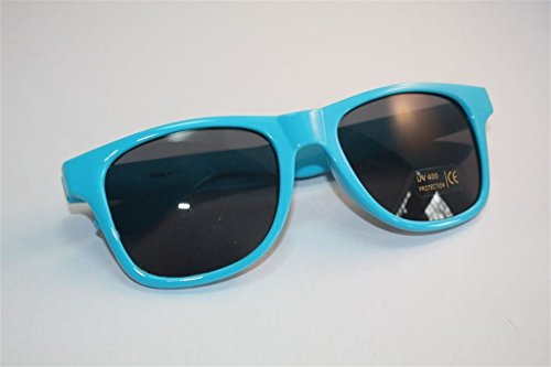 Bacardi Razz Sonnenbrille BLAU NERDBRILLE UV400