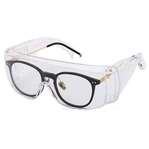 Gafas de seguridad, gafas industriales, gafas protectoras, gafas pueden usarse para gafas de seguridad transparentes generales con EN166 Gafas protectoras generales