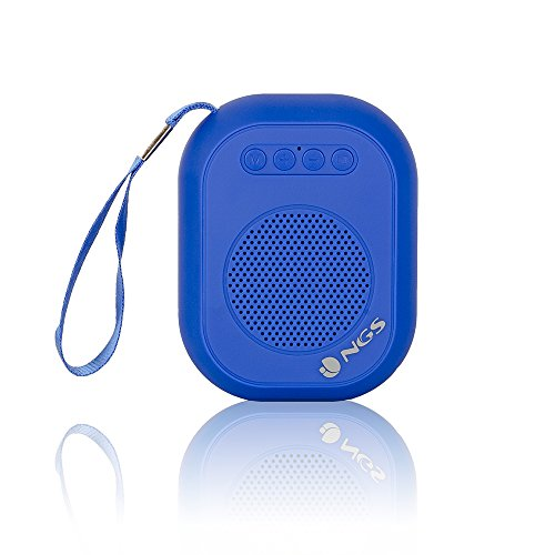 Ngs Roller Dice Blue 3W Azul - Altavoces Portátiles (3 W, Inalámbrico...