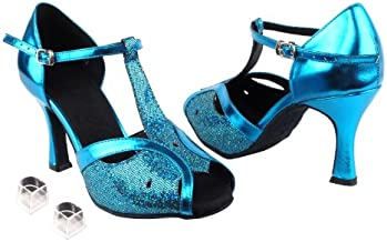 Ladies Women Ballroom Dance Shoes Very Fine EKSA2800 SERA 2.5