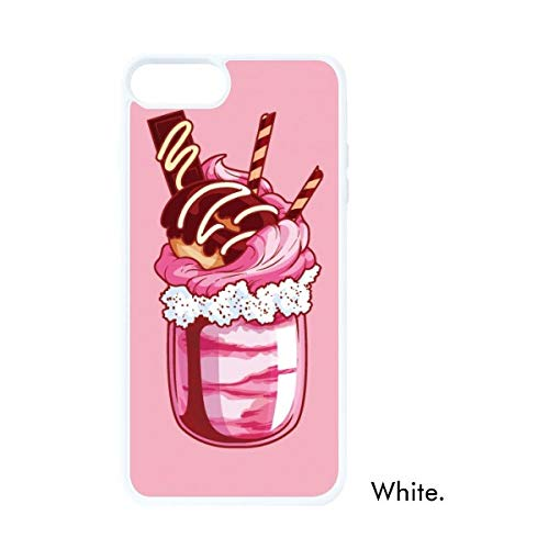 DIYthinker Chocolade Koekjes Fles IJs Witte Phonecase Apple Cover Case Gift
