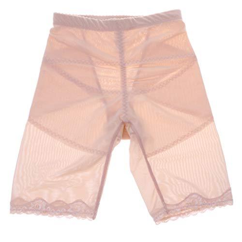 F Fityle Pantalones Cortos de Cintura Alta sin Costura Transpirable Braguita Masajeador Moldeador Efecto Push-up Control de Barriga, Cadera y Muslos