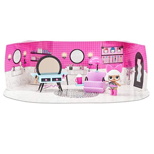 MGA- Meubles L.O.L Salon de beauté avec poupée Diva et 10+ Surprises Toy, 564102E7C, Multicolore