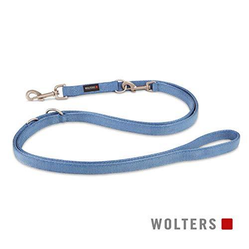 WOLTERS Führleine Professional versch. Größen und Farben, Farbe:Riverside Blue, Größe:S 200 cm x 10 mm