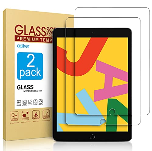 [2 Pack] Screen Protector Compatible with iPad 8th Generation 10.2...
