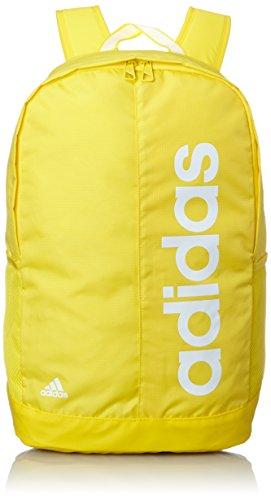 Adidas LIN PER BP - Bolsa de deporte, color amarillo / blanco