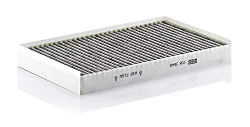 Original MANN-FILTER Innenraumfilter CUK 3540 – Pollenfilter mit Aktivkohle – Für PKW