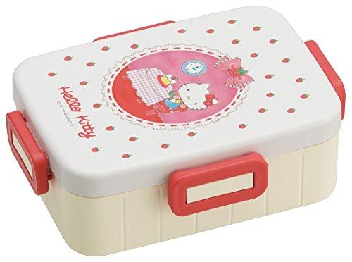 4-point lock lunch box [Hello Kitty pencil]