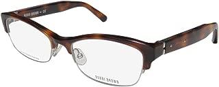 Bobbi Brown The Chloe Womens/Ladies Cat Eye Half-rim Spring Hinges Prestigious Designer Eyeglasses/Eyewear