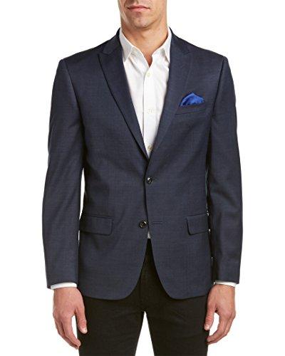 Ben Sherman Herren Slim Fit Ruxley Zwei Knöpfe Anzug Separate Jacke - Blau - 50 Lange