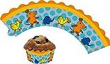 DH-Konzept 12 Cupcake Banderolen * DIE Maus * für Muffins | Muffinförmchen in 3 Größen einstellbar | Muffin Kinder Geburtstag Party Kindergeburtstag Kinderparty