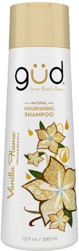 Gud Vanilla Flame Natural Nourishing Shampoo, 12 Fluid Ounces, 3 Pack