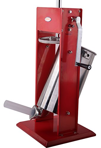 Hakka 15 Pound Sausage Stuffer 2 Speed Stainless Steel Vertical Sausage Maker by HAKKA BROTHER