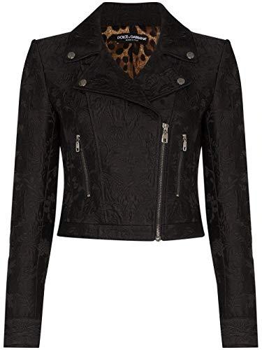 Luxury Fashion | Dolce E Gabbana Donna F9H26TFJMPGN0000 Nero Giacca | Primavera Estate 20