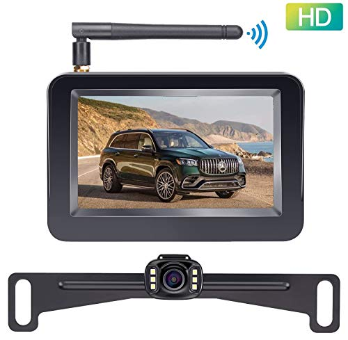 auto backup camera wireless - 3