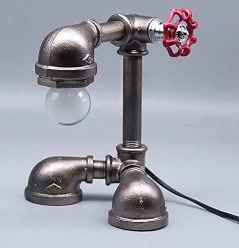 DYJXIGO Lámpara de Robot Industrial Robot Retro Plug USB LED Lámpara de energía para Dormitorio para Estudiantes Habitación para niños Sala de Estar Barra de Cama