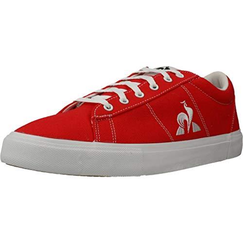 Le Coq Sportif Unisex-Erwachsene Verdon Plus Sneaker, Reines Rot, 42 EU
