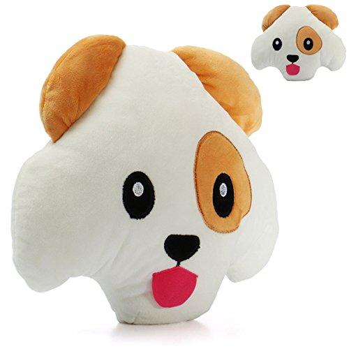 'Bazaar 12\ Mignon-Puffy Hunde Soft Kopfkissen Emoticon Spielzeug Lustige Gepolstertes Kissen Puppe Geschenke