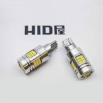HID屋 T16 T20 S25 LED バックランプ 爆光 4000lm LEDチップ 6500k ホワイト (T16)