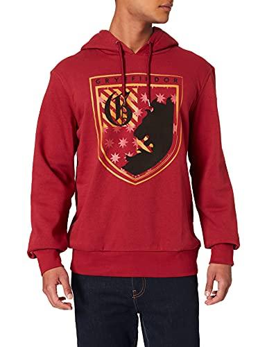 Springfield Sudadera Capucha Gryffindor, Rojo, XS para Hombre