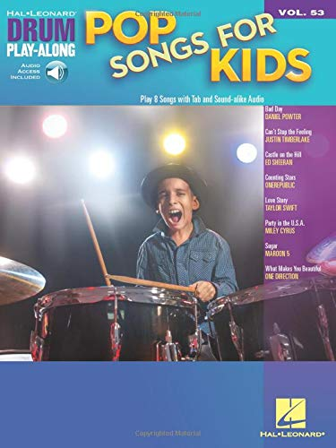 Pop Songs for Kids: Drum Play-Along Volume 53