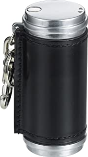 ペンギンライター 携帯灰皿 アッシュシリンダー レザー コードバン アルミ ブラック