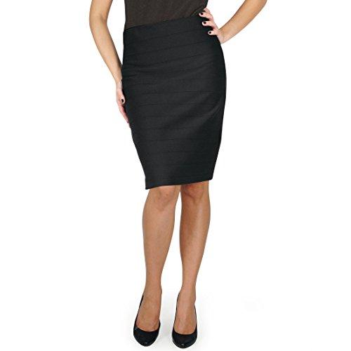 Joseph Ribkoff Loanne Black Pencil Skirt - Black - 14 UK