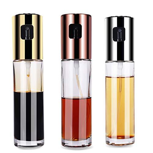QYXM Olivenölsprühgerät Zum Kochen, Ölsprühflasche Für Öl Vielseitiges Glassprühglas Olivenölflasche Zum Kochen, Essigflaschenglas, Perfekt Zum Kochen/Backen/Braten/Grillen