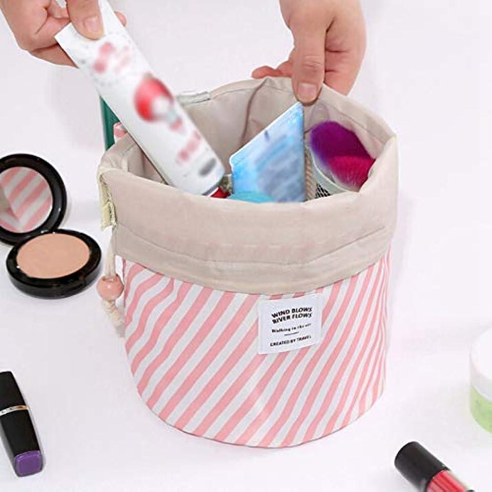カバー二層草LULAA 化粧ポーチバッグ 超軽量 洗面用具入れ 大容量桶型 吊り下げ 防水素材 小物整理 旅行出張用 レディース 6色