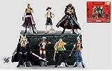 SZSOZD 9-12cm 7pcs / Set One Piece Luffy Trafalgar Law Anime Figura de acción PVC Colección Modelo J...