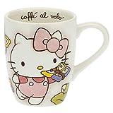 THUN ® - Taza Hello Kitty Mariposas para té, café, tisana - Porcelana - 250 ml - Ø 8,5...
