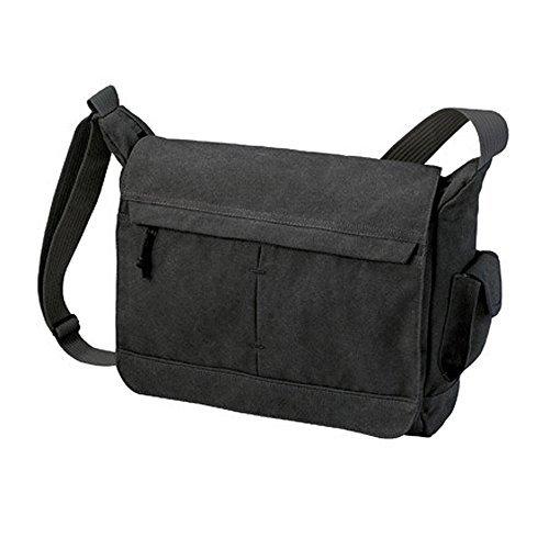 HALFAR® HF2759 Shoulder Bag Nature Freizeittaschen Freizeit-Umhängetaschen Tasche, Farbe:Black by Halfar