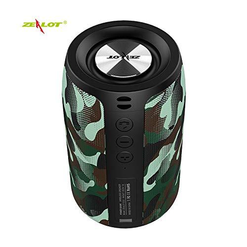 Adaskala S32 Altoparlante Bluetooth Wireless Portatile 5W Subwoofer Cassa Audio Esterna...