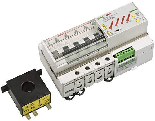 Multiprotector (Sobrecorriente, Diferencial, Baja Tensión) Trifásico Autorearmable LED705 (40A, 5 milisegundos)