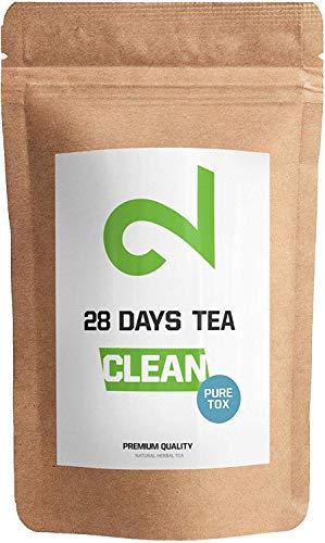 Dual 28 Days Detox Tea - Tè Disintossicazione |Per la Perdita di Peso|Tè Dimagrante E...