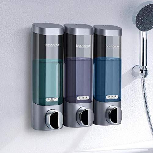 qq666 Automatischer Seifenspender , Seifenspender Einfaches Händedesinfektionsshampoo Shampoo Wandspüle Automatische Maschine Handelsschaum unter der Stufe 300ML * 3