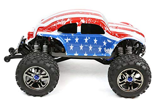 Compatible Custom Body Flag Strip Style Replacement for 1/10 1/8 Scale RC Car or Truck (Truck not Included) B-ST-01